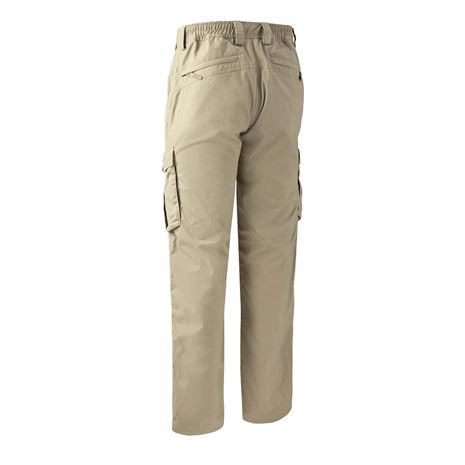 Deerhunter Lofoten Trousers - Khaki - Rear