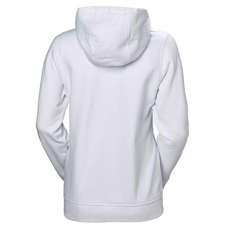 Helly Hansen Womens HH Logo Hoodie - White - Rear