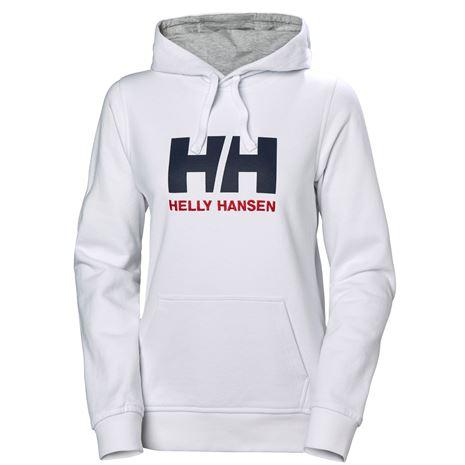 Helly Hansen Womens HH Logo Hoodie - White