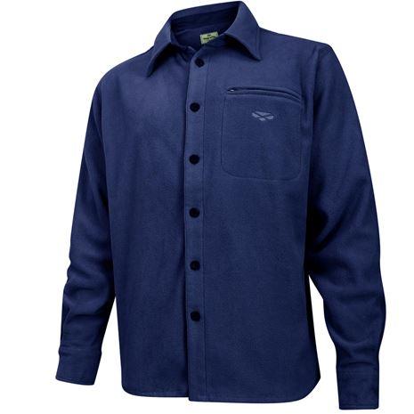 Hoggs of Fife Highland Micro Fleece Shirt - Navy