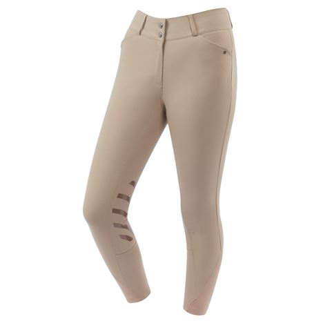 Dublin Pro Form Gel Knee Patch Breeches - Beige