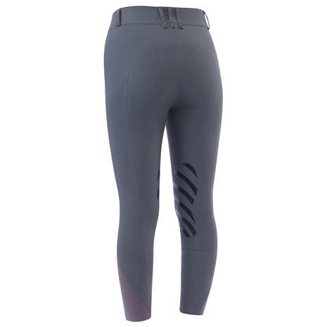 Dublin Pro Form Gel Knee Patch Breeches - Charcoal - Rear