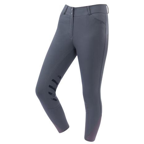 Dublin Pro Form Gel Knee Patch Breeches - Charcoal