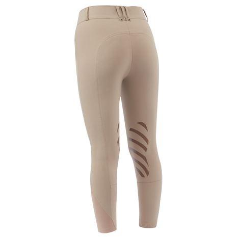Dublin Pro Form Gel Knee Patch Breeches - Beige - Rear
