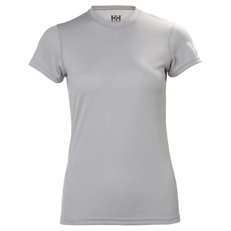 Helly Hansen Womens HH Tech T-Shirt - Light Grey