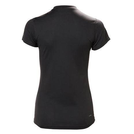 Helly Hansen Womens HH Tech T-Shirt - Ebony - Rear