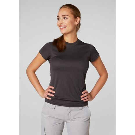 Helly Hansen Womens HH Tech T-Shirt - Ebony