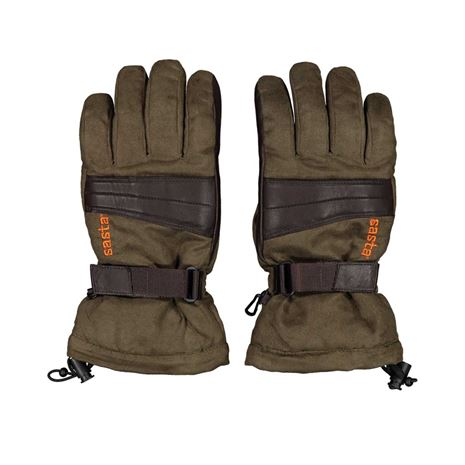 Sasta Tapio Gloves - Dark Brown
