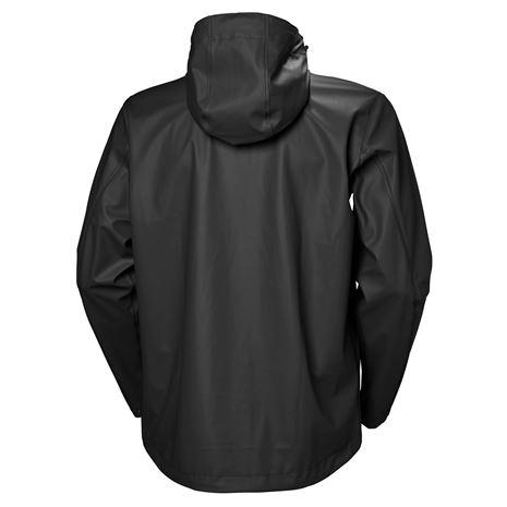 Helly Hansen Moss Jacket - Black - Rear