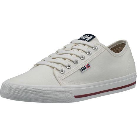 Helly Hansen Fjord Canvas Shoe V2 - Off White / Navy / Plum