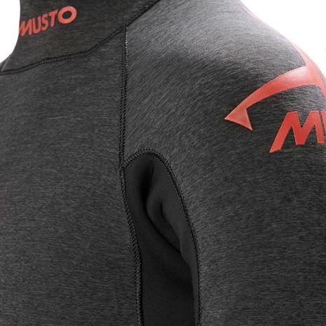 Musto Flexlite Alumin Top 2.5mm - Black Marl