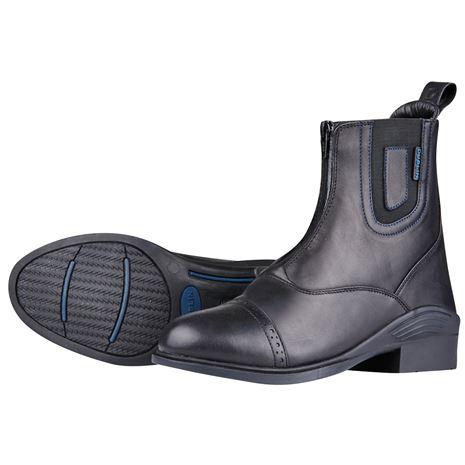 Dublin Evolution Waterproof Zip Front Paddock Boots - Black