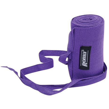 Roma Elastic Tail Bandage - Purple