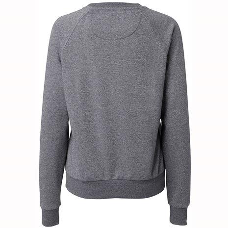 Mountain Horse Street Sweater - Grey Melange - Rear View