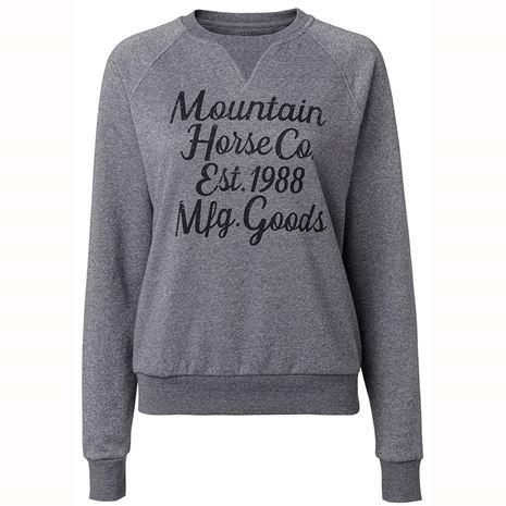 Mountain Horse Street Sweater - Grey Melange - Front View