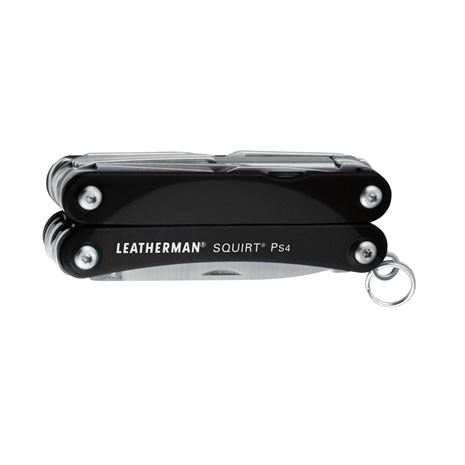 Leatherman Squirt PS4 Keychain Tool - Black - Closed