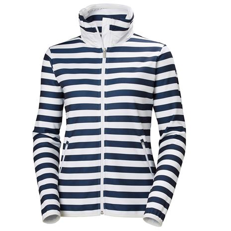 Helly Hansen Women's Naiad Fleece Jacket - Evening Blue Stripe