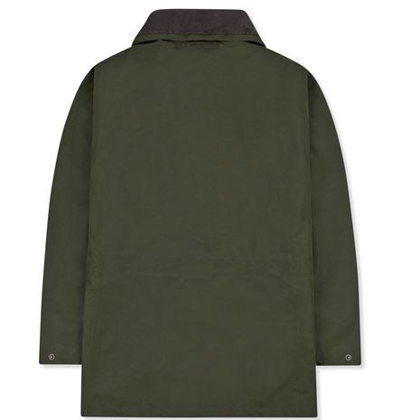 Musto Highland Gore-Tex Ultra Lite Jacket - Dark Moss - Rear