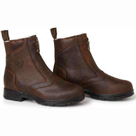 Mountain Horse Spring River Paddock Boots - Brown - Front View