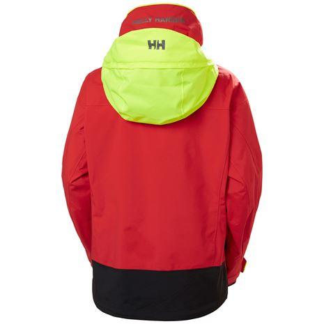 Helly Hansen Womens Pier 3.0 Jacket - Alert Red - Rear