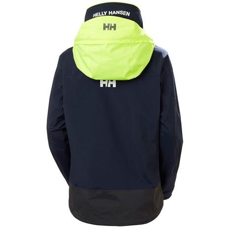 Helly Hansen Womens Pier 3.0 Jacket - Navy - Rear