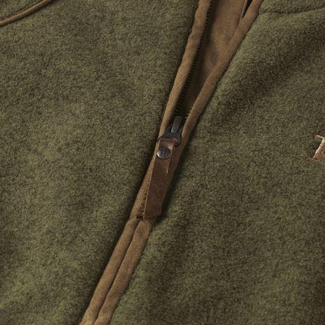 Harkila - Sandhem Lady Fleece Waistcoat - Dusty Lake Green Melange