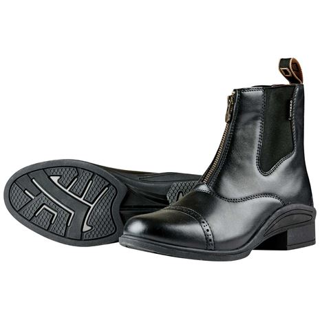 Dublin Altitude Zip Paddock Boots - Black