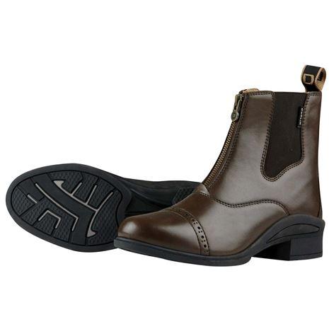 Dublin Altitude Zip Paddock Boots - Brown