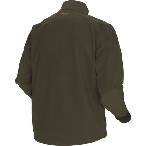 Harkila Mountain Hunter Fleece Jacket - Hunting Green/Shadow Brown