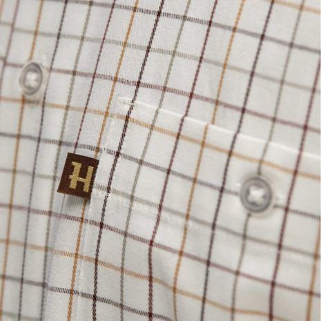 Harkila Retrieve Shirt Burgundy Check