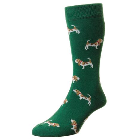 Bisley Hounds Socks - Green