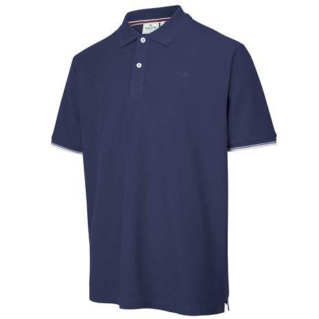 Hoggs of Fife Largs Cotton Polo - Navy