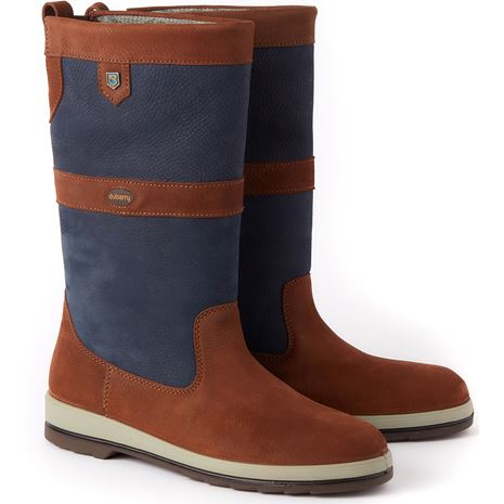 Dubarry Ultima Sailing Boot - 32 Navy/Brown
