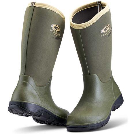 Grubs Fieldline Wellington Boot - Olive