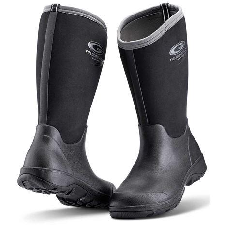 Grubs Fieldline Wellington Boot - Black