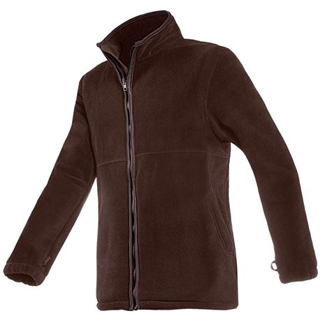 Baleno Henry Fleece Jacket - Brown
