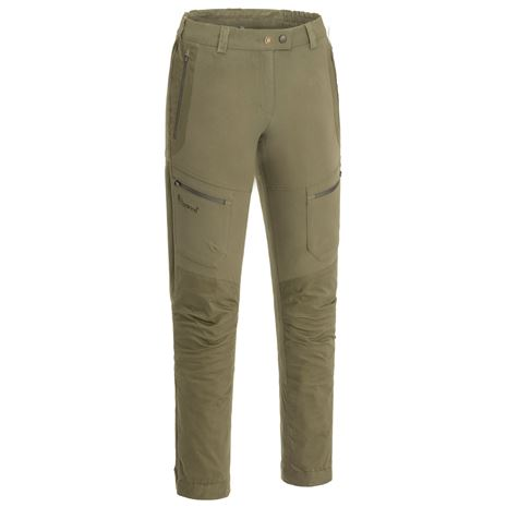 Pinewood Women's Finnveden Hybrid Trousers - Hunting Olive