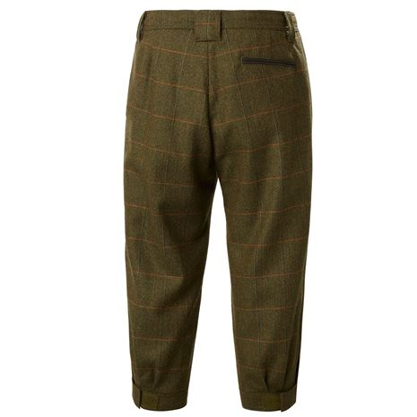 Musto Lightweight Machine Washable Gore-Tex Tweed Breeks - Balmoral - Rear