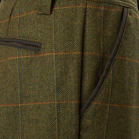 Musto Lightweight Machine Washable Gore-Tex Tweed Breeks - Balmoral