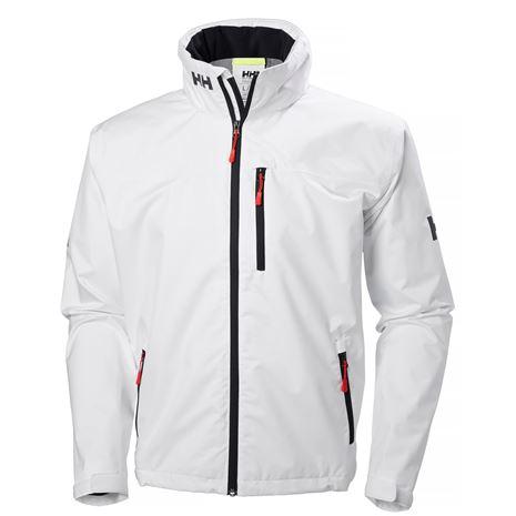 Helly Hansen Crew Hooded Jacket - White