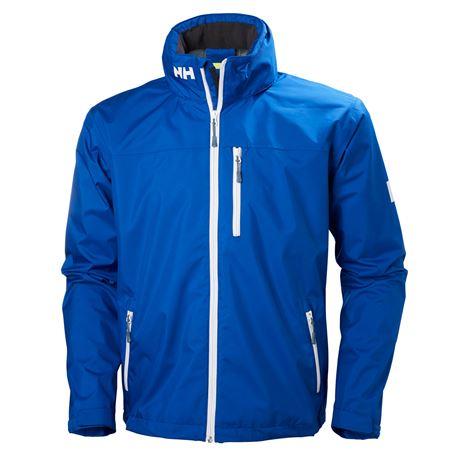 Helly Hansen Crew Hooded Jacket - Olympian Blue