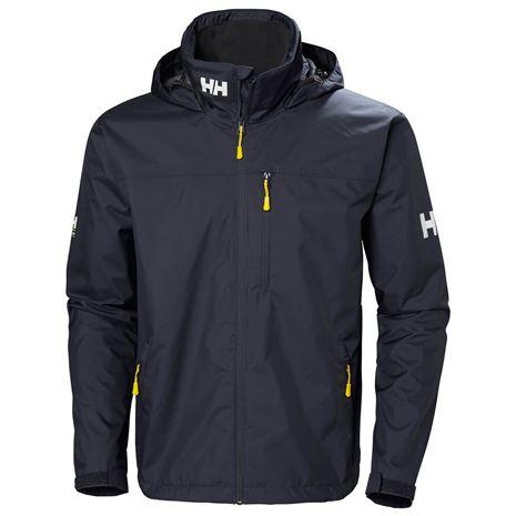 Helly Hansen Crew Hooded Jacket - Graphite Blue