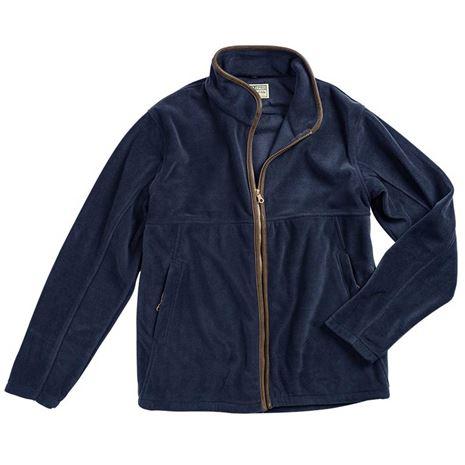 Hoggs of Fife Stenton Technical Fleece Jacket - Midnight Navy