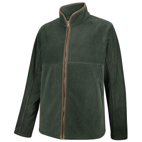 Hoggs of Fife Stenton Technical Fleece Jacket - Pine Green