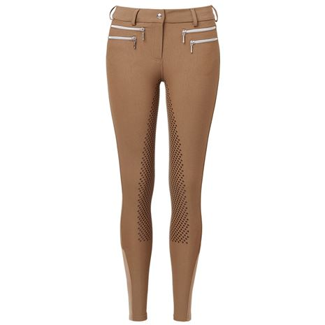 Mountain Horse Amy Breeches Knee - Bronze - Front View