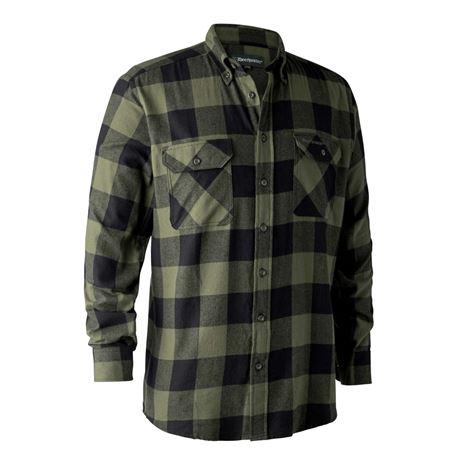 Deerhunter Marvin Shirt - Green - Black