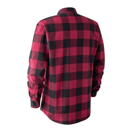 Deerhunter Marvin Shirt - Red- Black