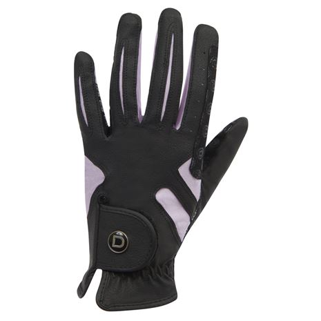 Dublin Cool-It Gel Riding Gloves - Black Pink