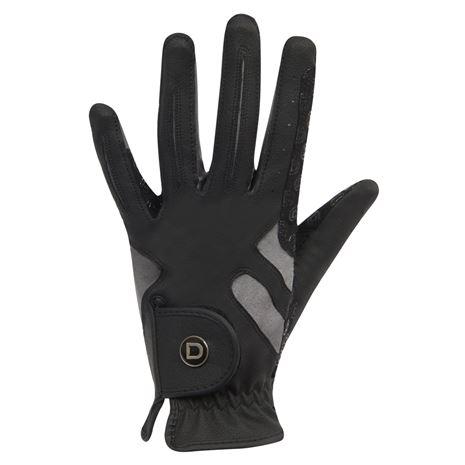 Dublin Cool-It Gel Riding Gloves - Black Grey