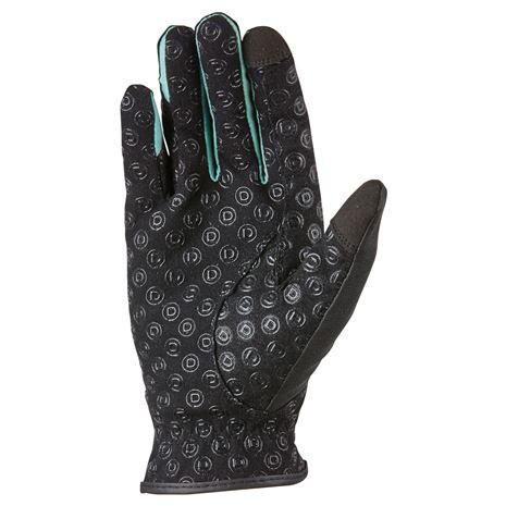 Dublin Cool-It Gel Riding Gloves - Black Teal
